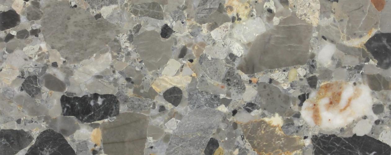 """New Production of """"Ceppo di Alba"""" (Breccia Alba) marble"""