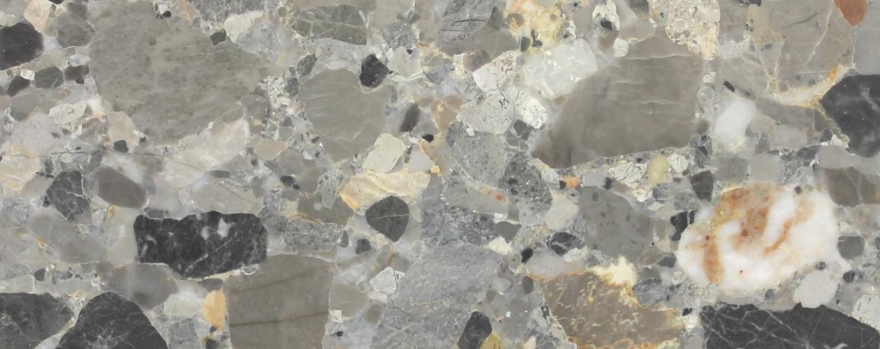 """Nuova produzione marmo """"Ceppo di Alba"""" (Breccia Alba)"""